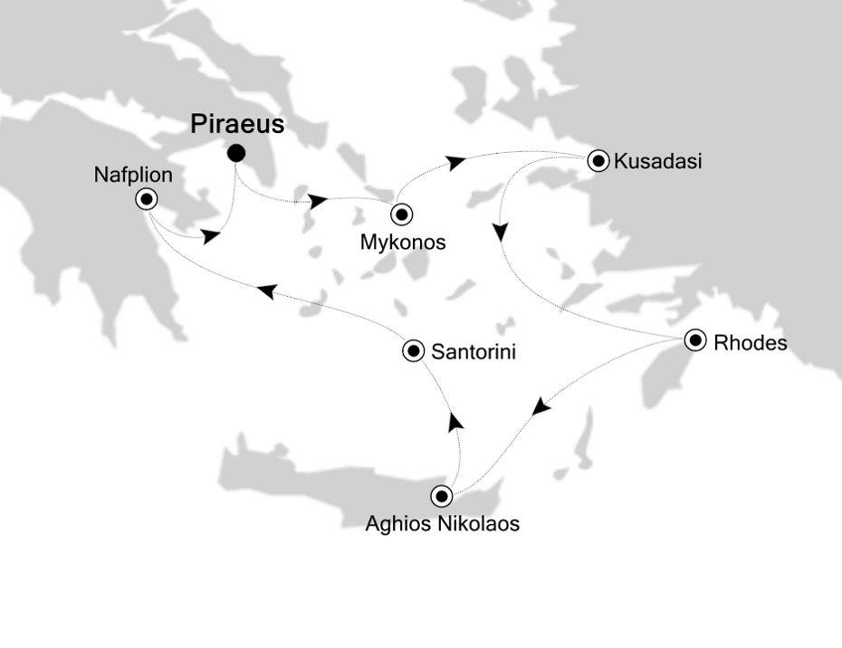 SL200410007 - Piraeus to Piraeus