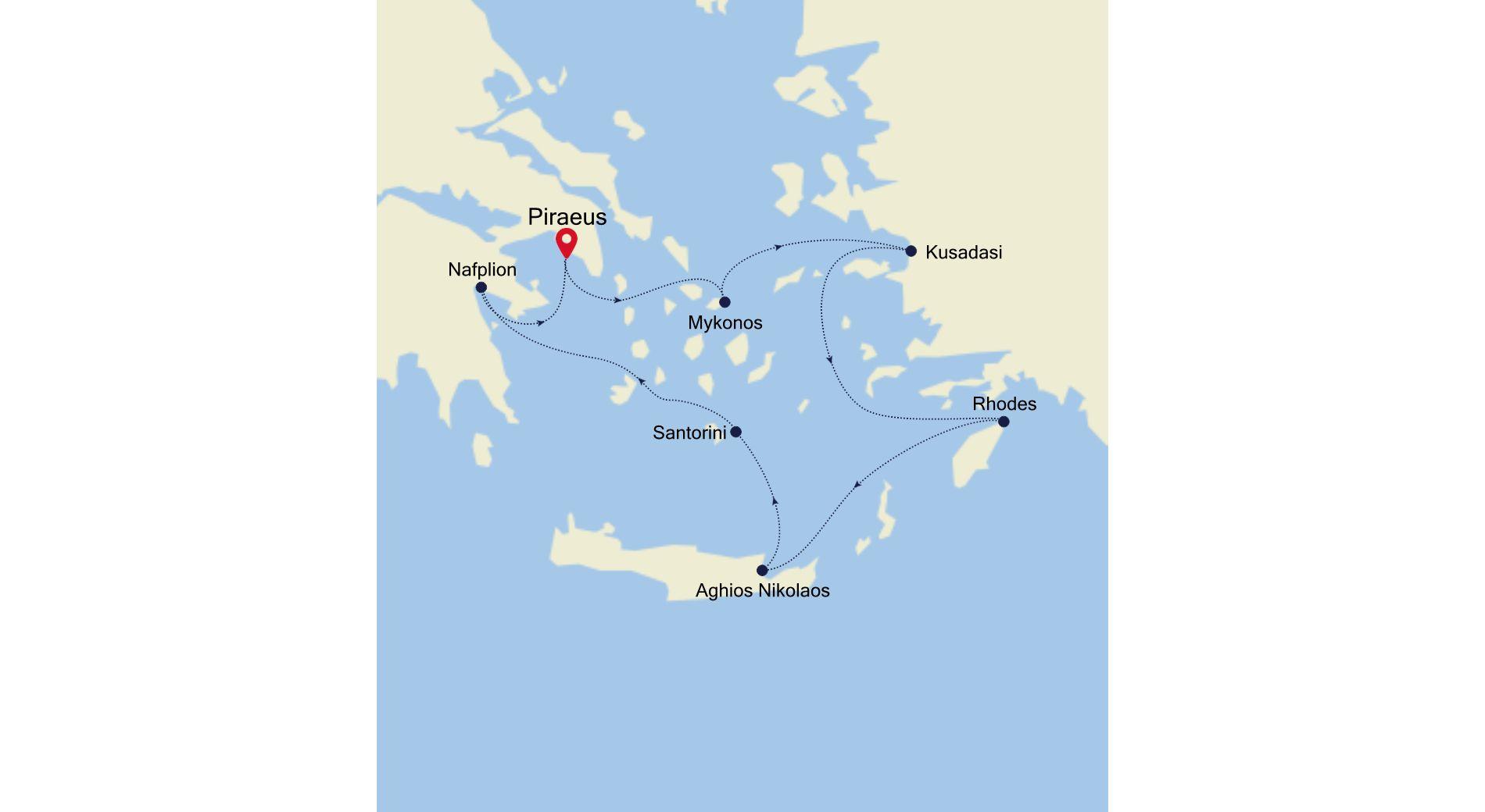SL200410007 - Piraeus nach Piraeus