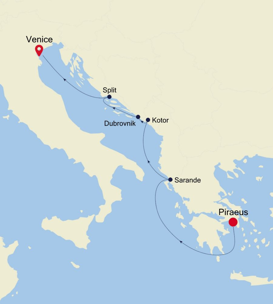 SL200417007 - Piraeus à Venice