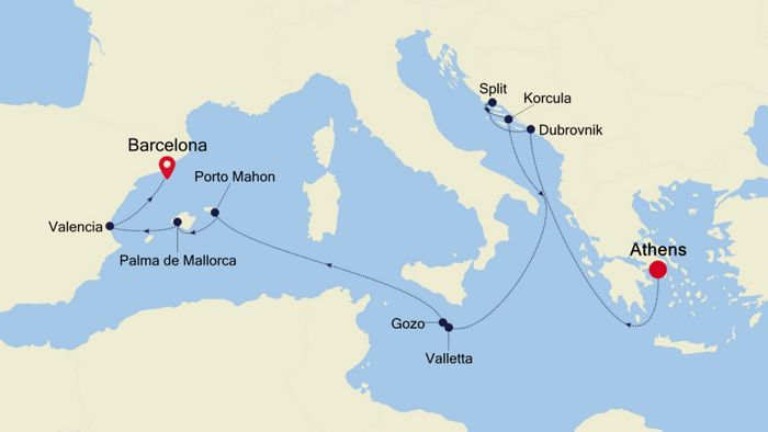 Luxury Cruise from VENICE to ROME (Civitavecchia) 05 Mai ...