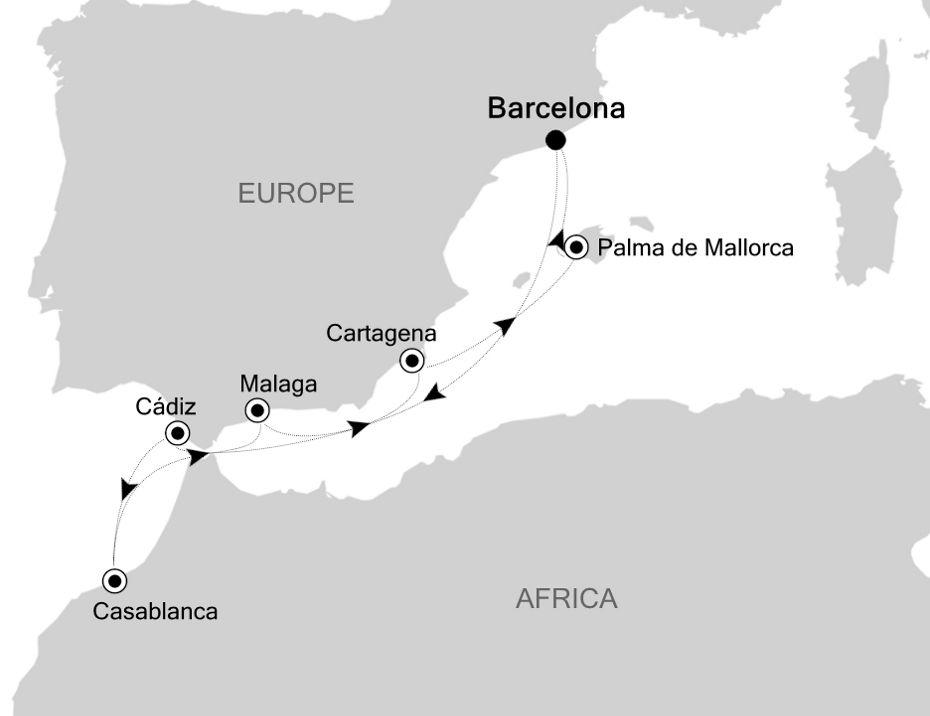 SL200526009 - Barcelona to Barcelona