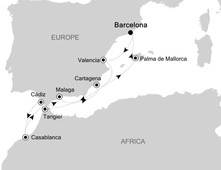 SL201007010 - Barcelona a Barcelona