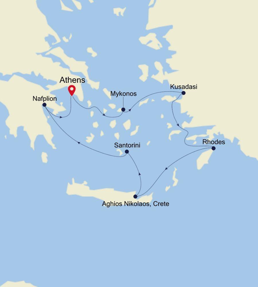 SL201029007 - Piraeus nach Piraeus