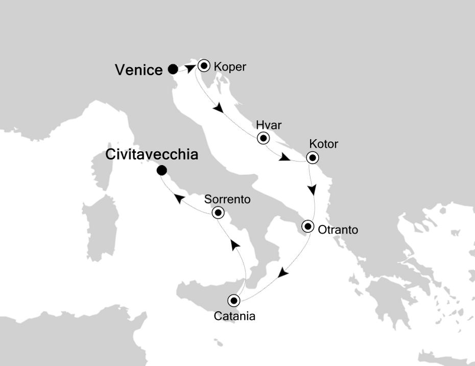 4811 - Venice a Civitavecchia