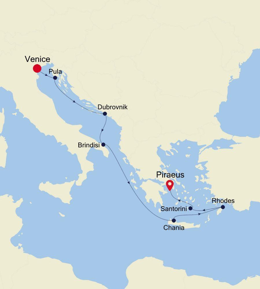 3917 - Venice a Piraeus