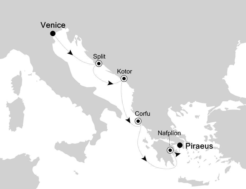 3929 - Venice nach Piraeus