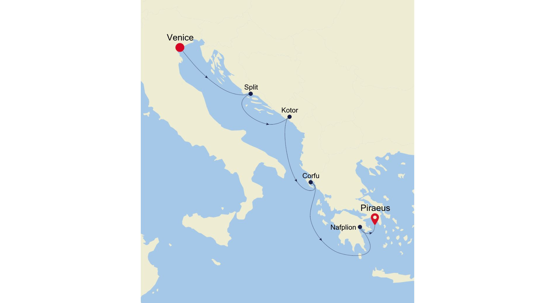 3929 - Venice to Piraeus