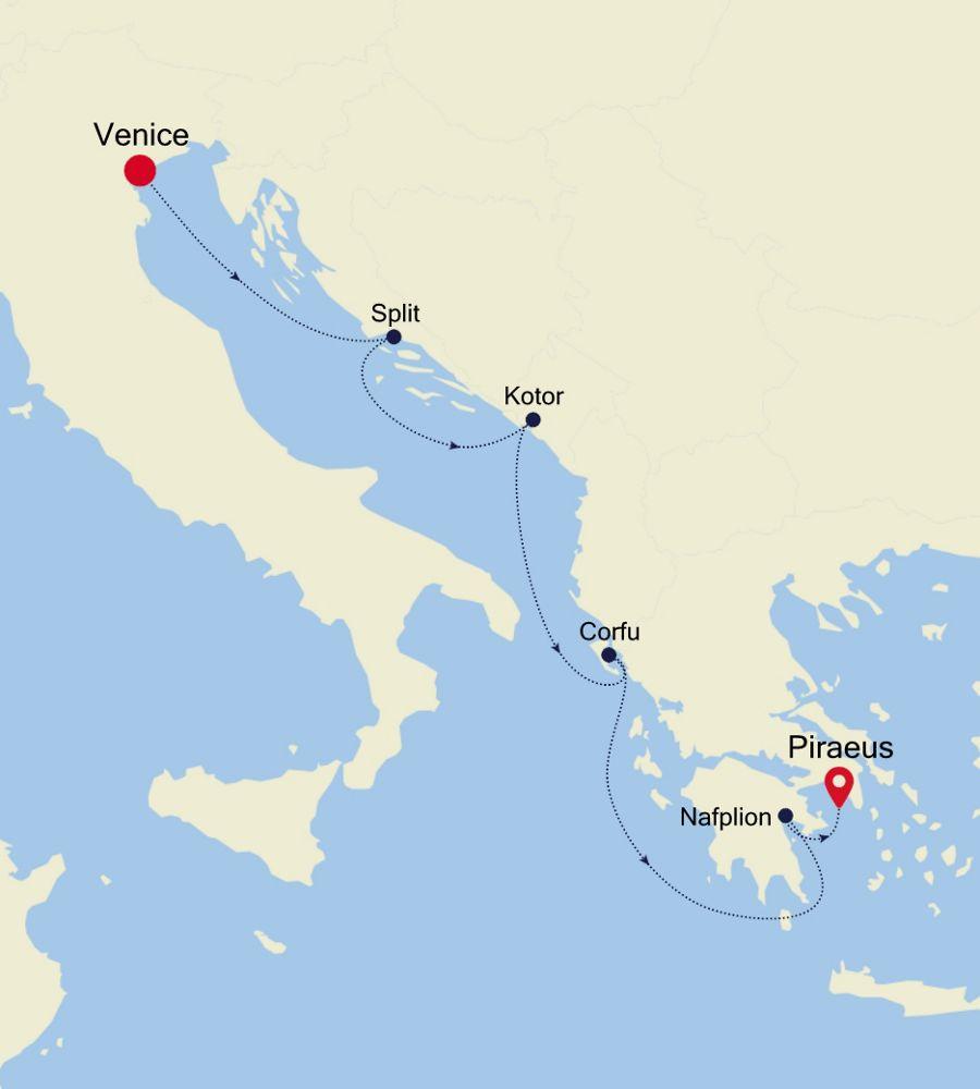 3929 - Venice a Piraeus