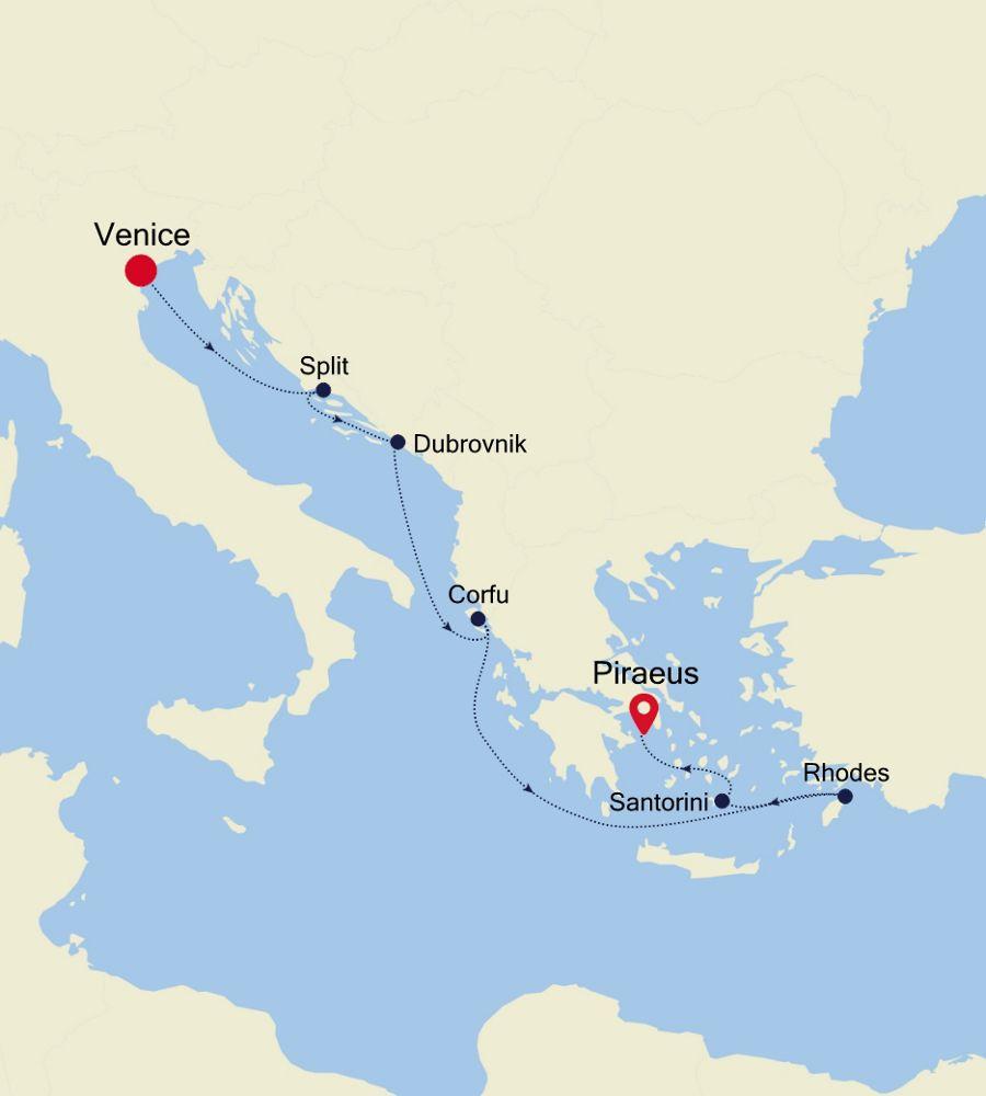 5931 - Venice to Piraeus