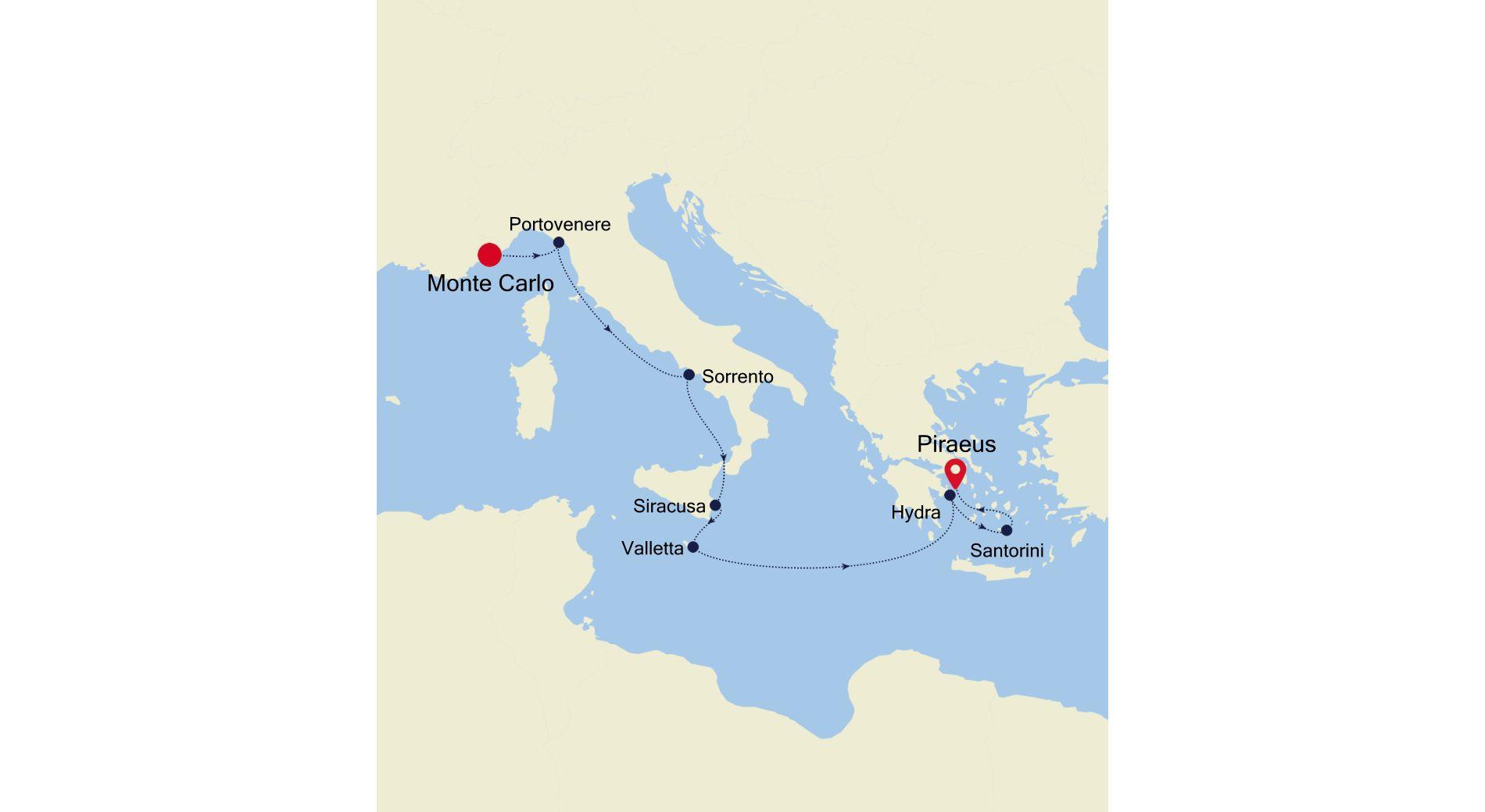 4917A - Monte Carlo a Piraeus