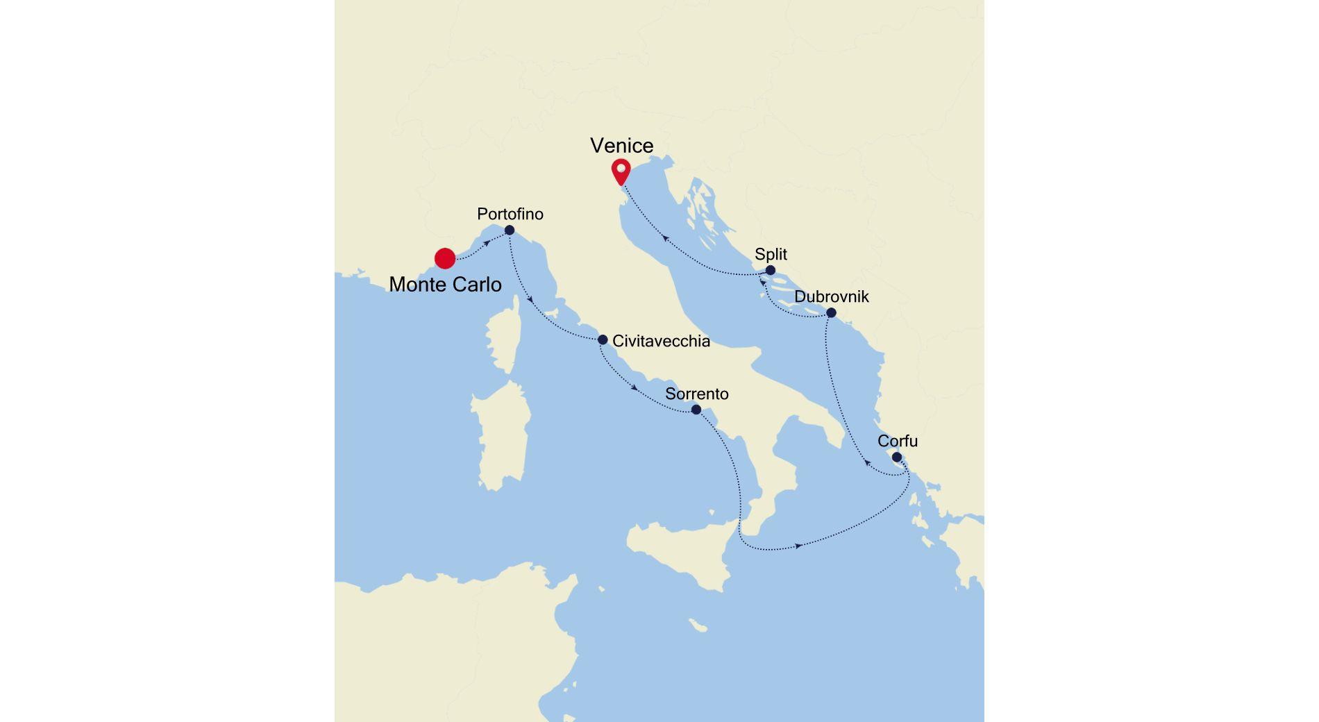 WH200810009 - Monte Carlo to Venice