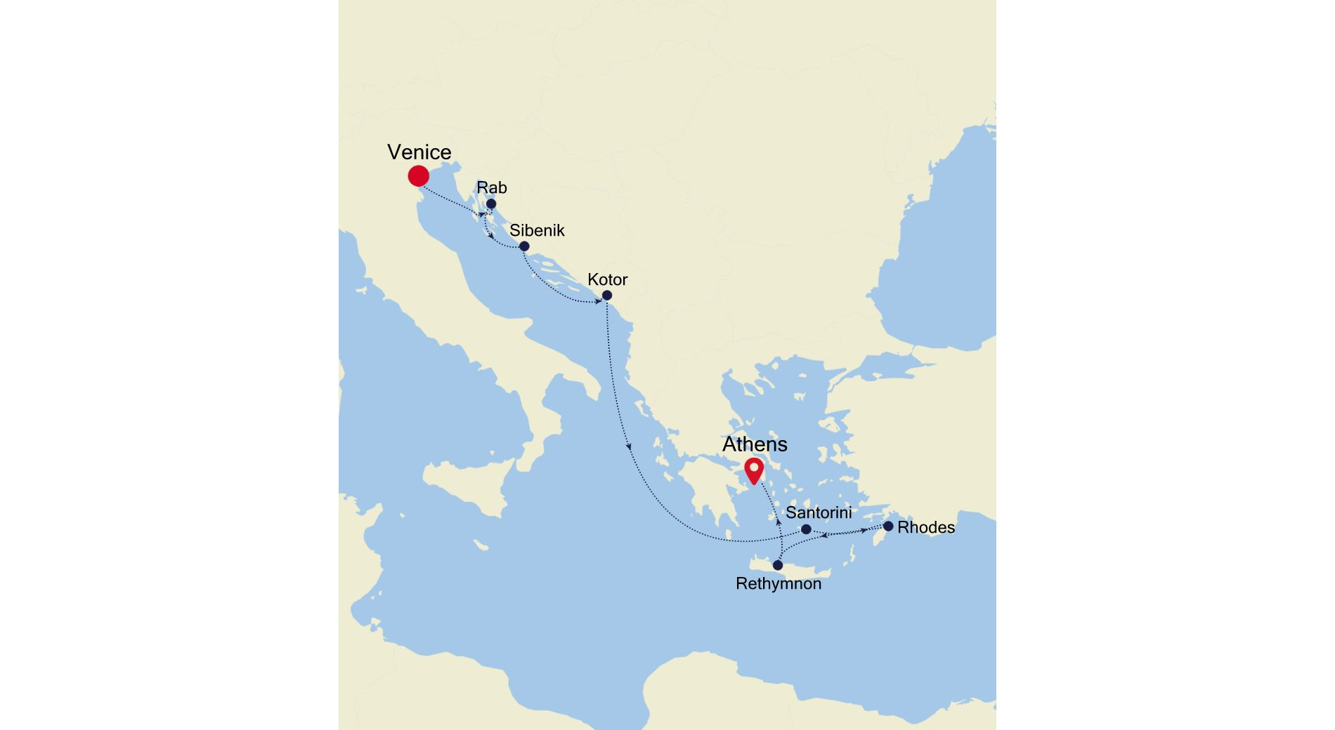 WH200819009 - Venice to Piraeus