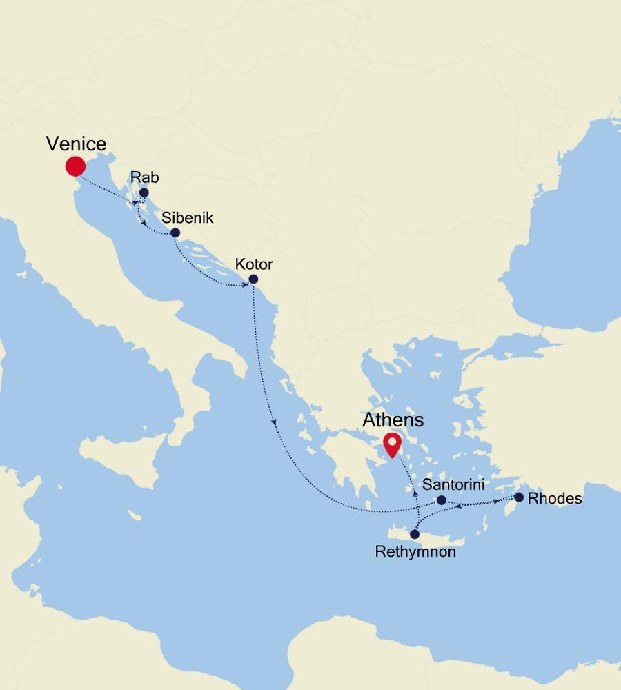 WH200819009 - Venice a Piraeus