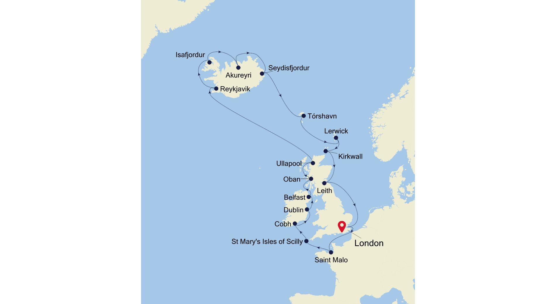 C2921 - British Isles + Iceland