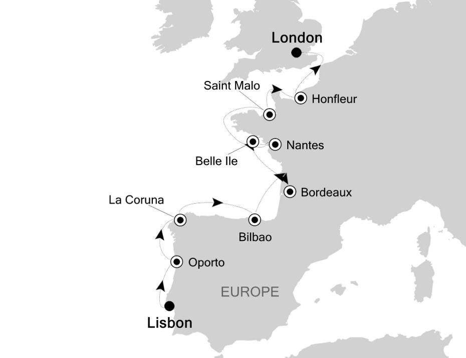 E4200507012 - Lisbon à London
