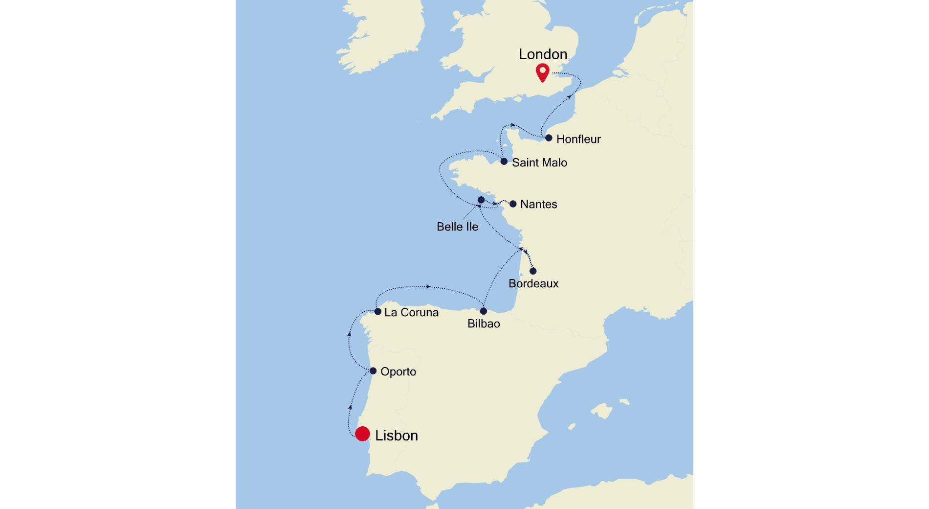 E4200507012 - Lisbon to London