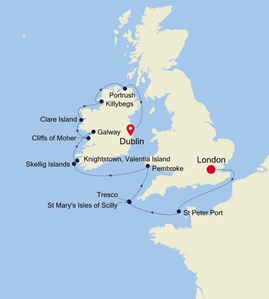 E4200519010 - London à Dublin