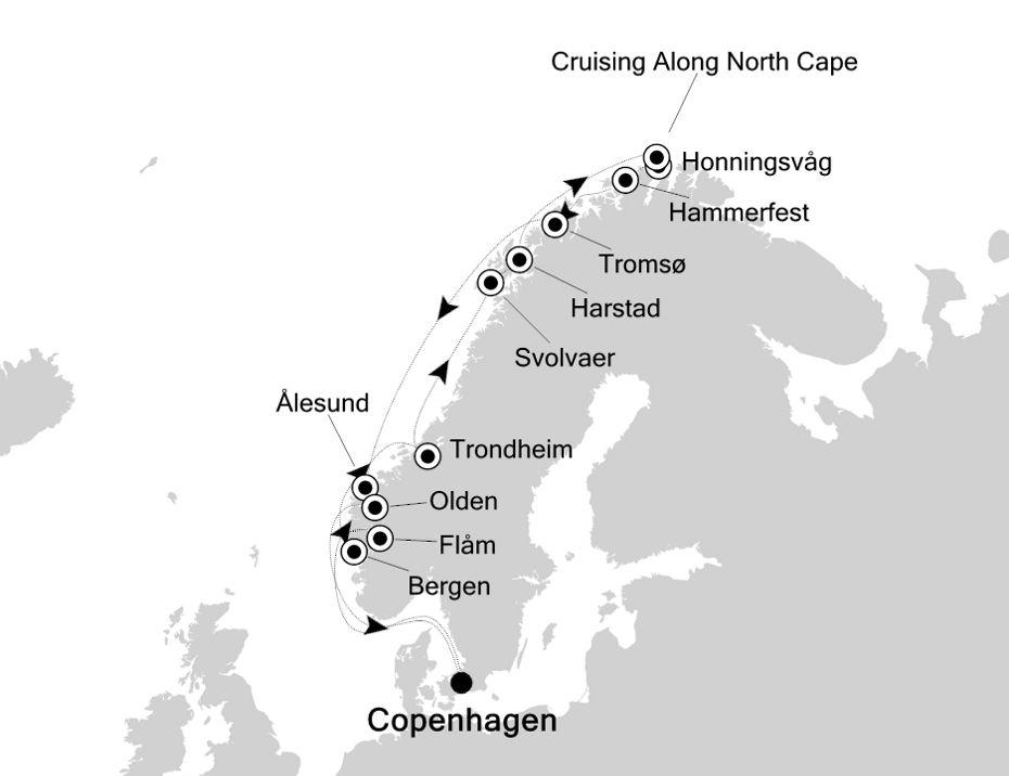 5815 - Copenhagen to Copenhagen