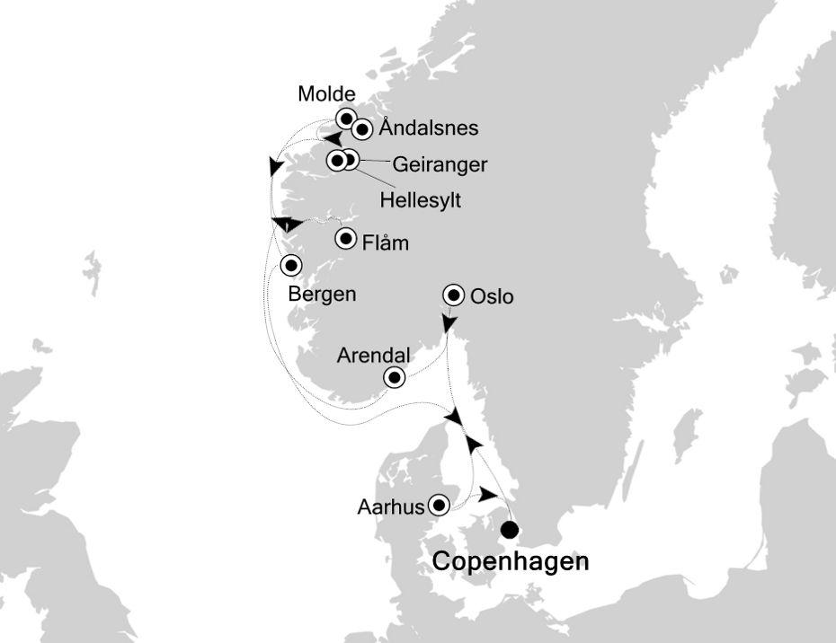 5922 - Copenhagen nach Copenhagen