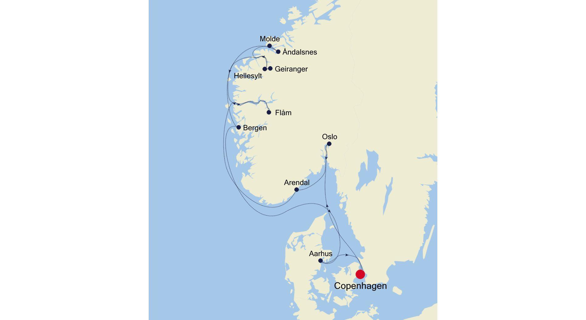5922 - Copenhagen to Copenhagen