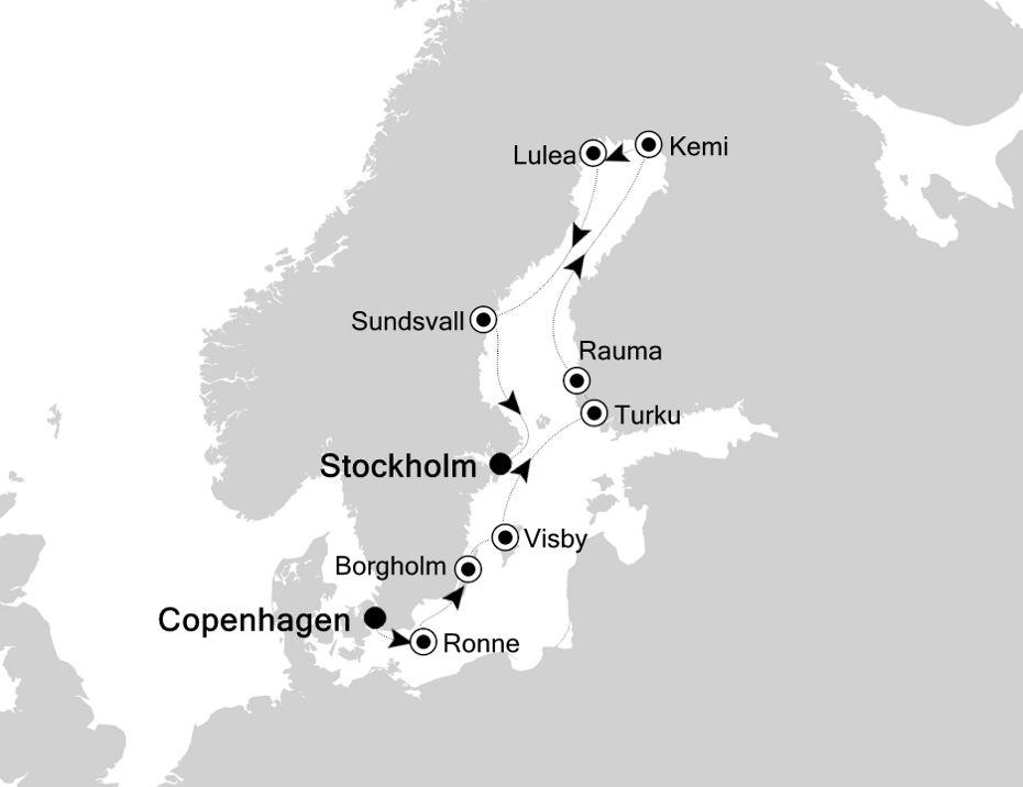 5819 - Copenhagen nach Stockholm