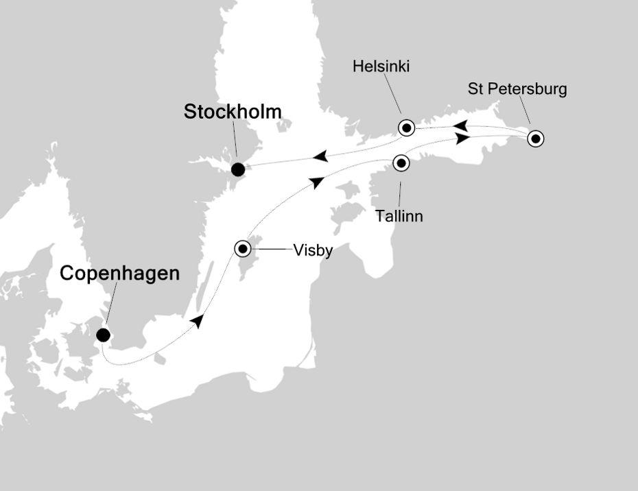 5823 - Copenhagen to Stockholm