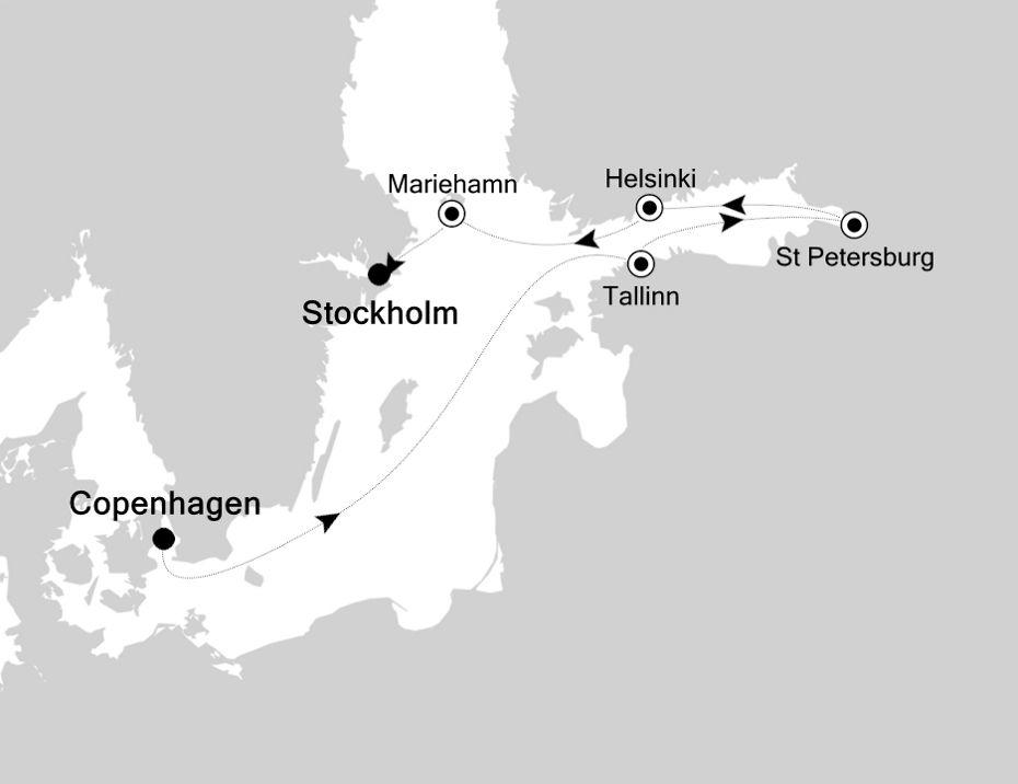 5918 - Copenhagen nach Stockholm