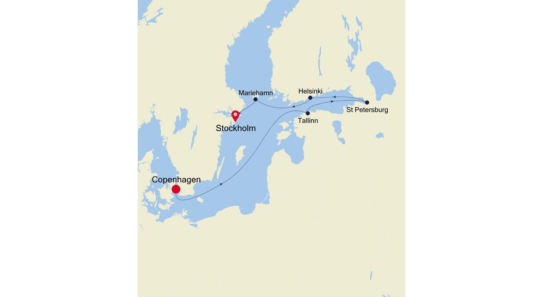 5918 - Copenhagen a Stockholm