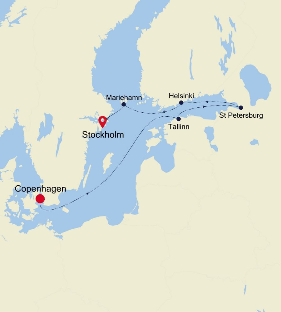 5918 - Copenhagen to Stockholm
