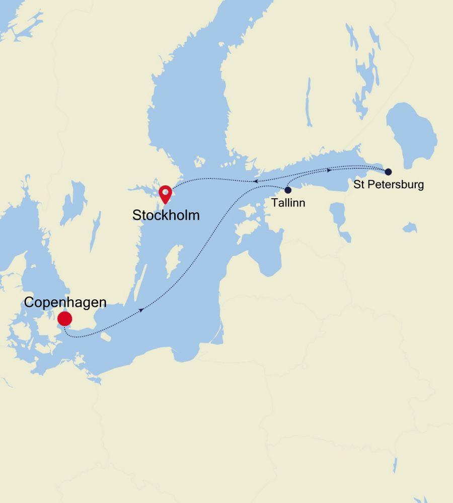 5920 - Copenhagen to Stockholm