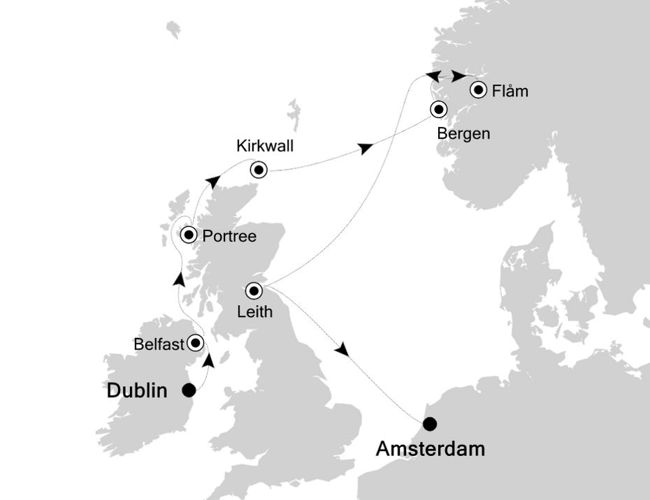 4009 - Dublin to Amsterdam