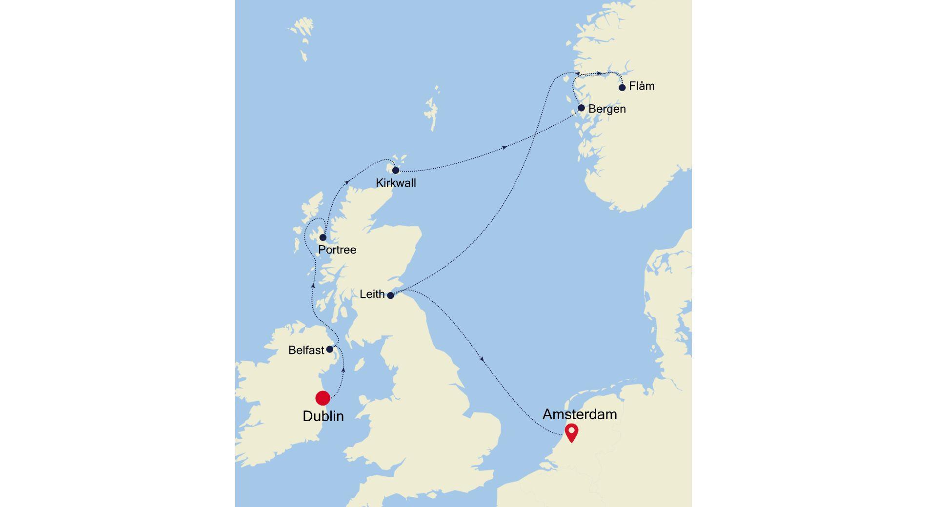 4009 - Dublin a Amsterdam