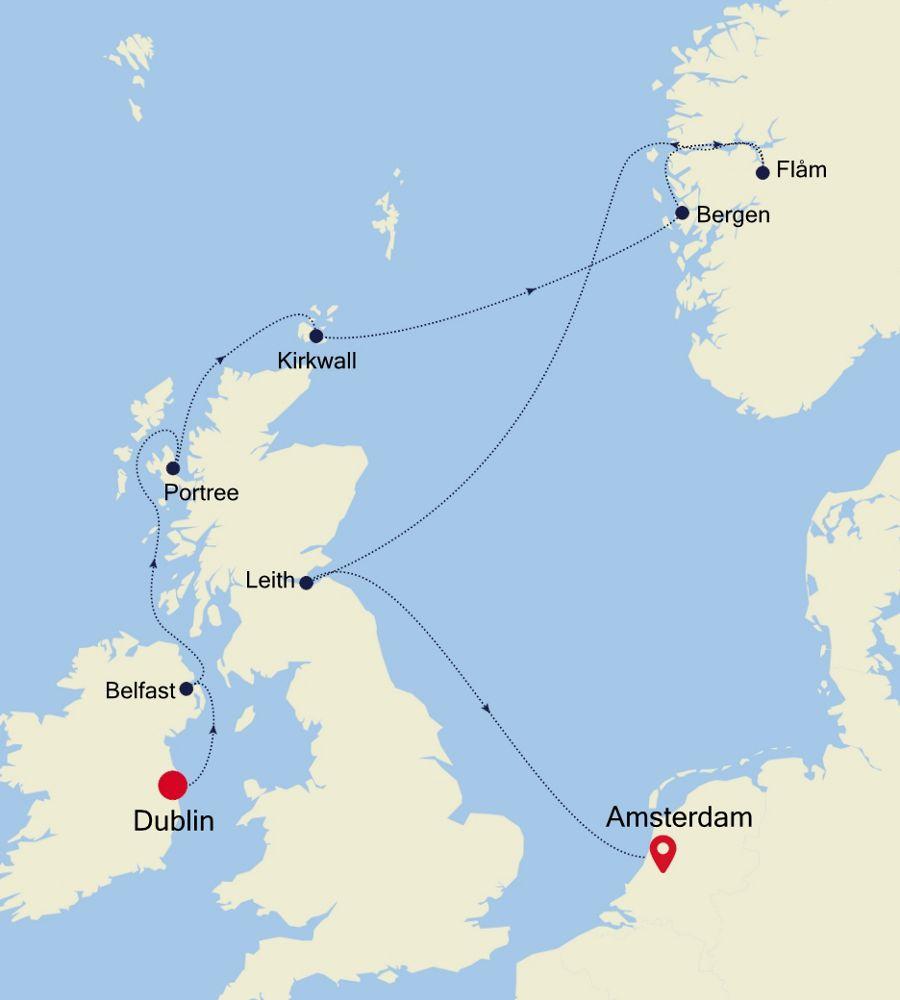 4009 - Dublin à Amsterdam