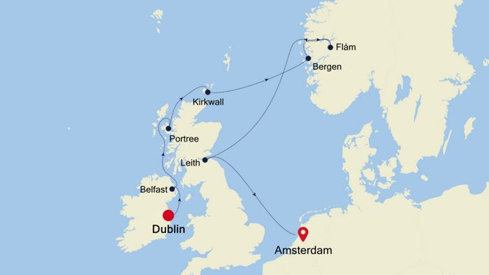Luxury Cruise From Dublin To Amsterdam 15 May 2020 Silversea