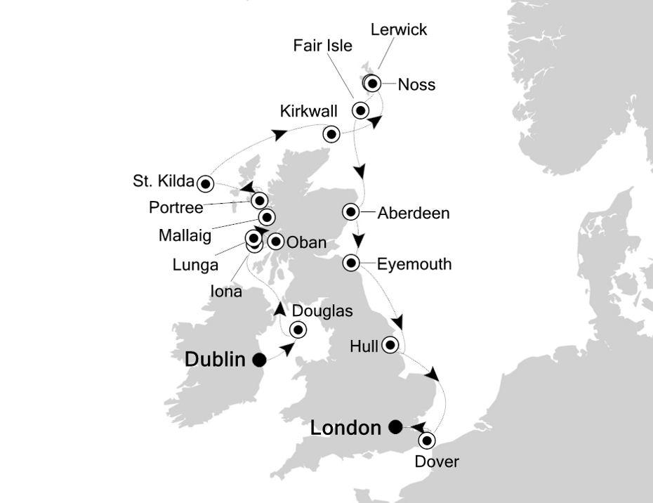 1811 - Dublin à London