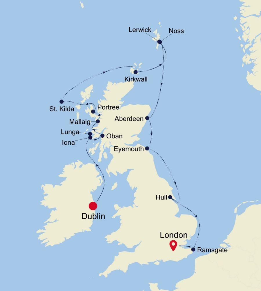 1912 - Dublin a London