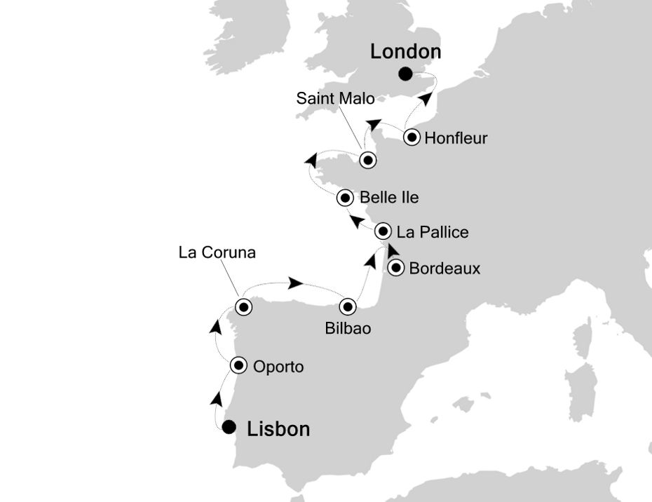 2821 - Lisbon to London
