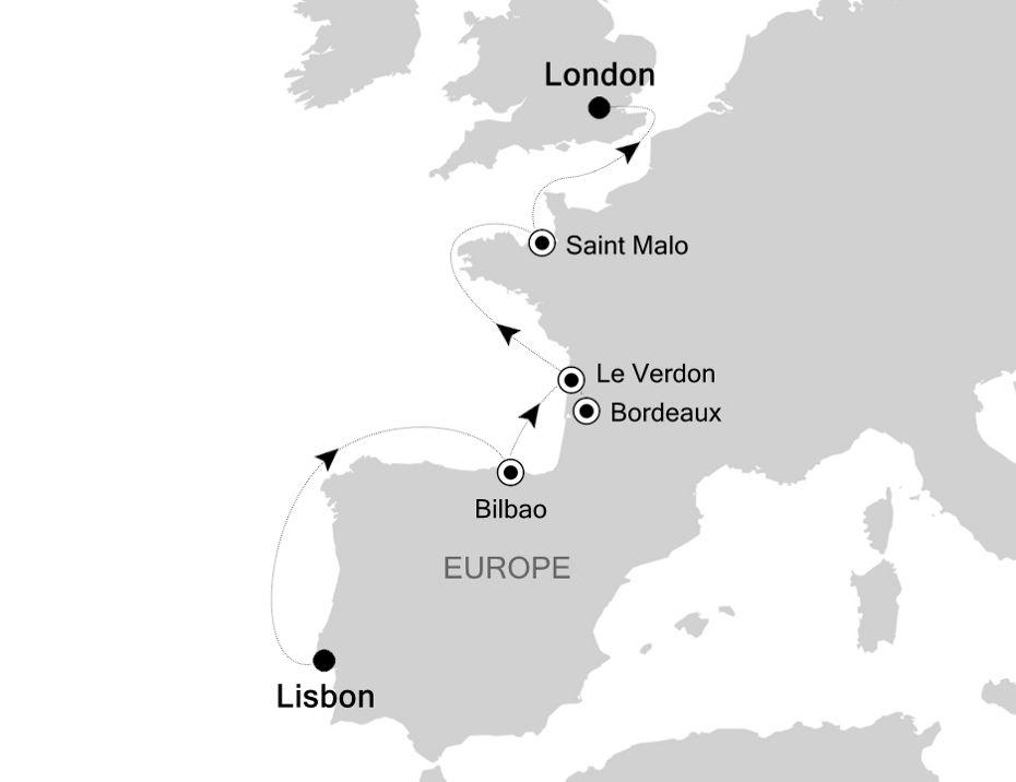 4909 - Lisbon à London