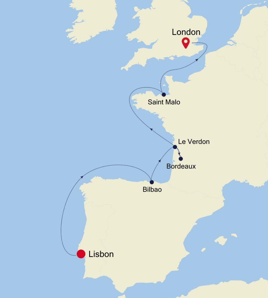 4909 - Lisbon a London