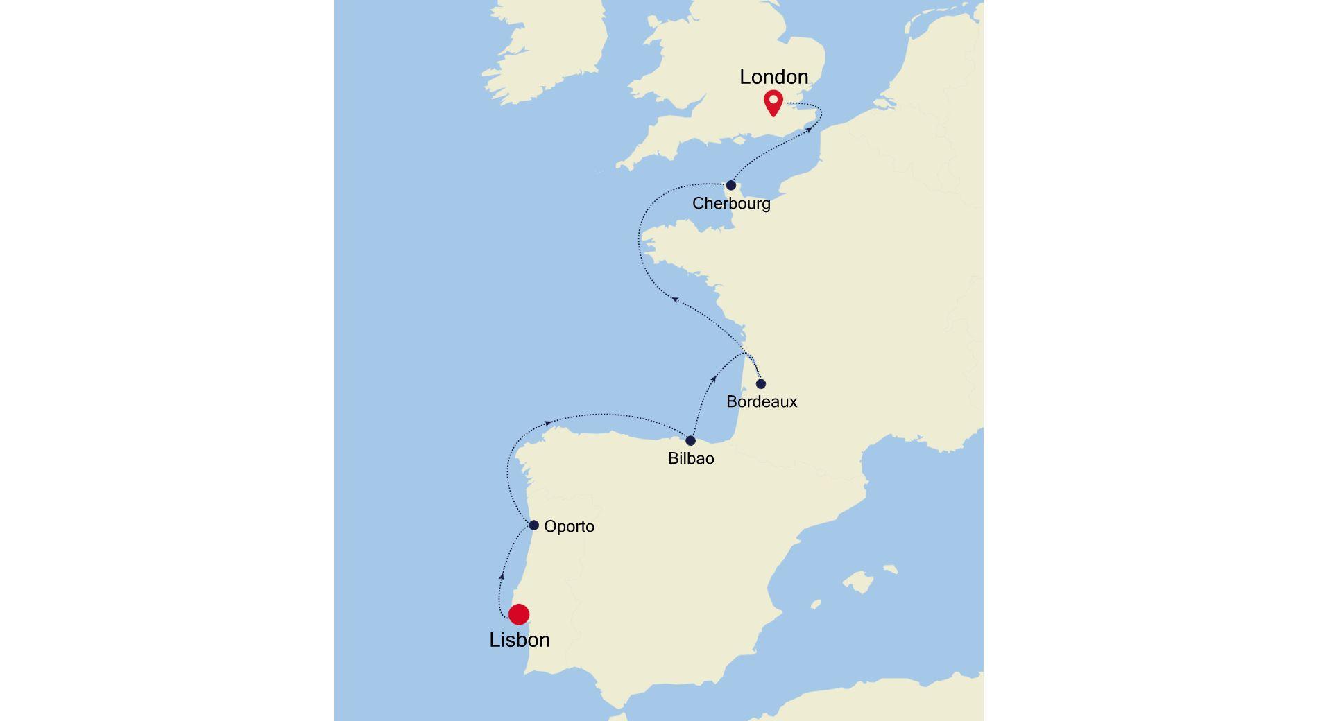 4924 - Lisbon nach London