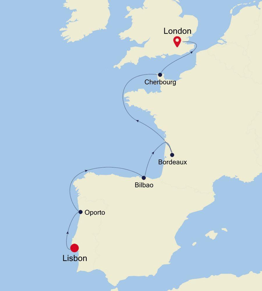 4924 - Lisbon to London