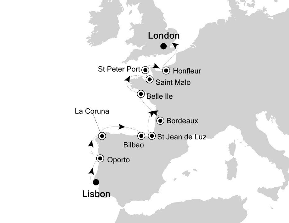 5813 - Lisbon à London