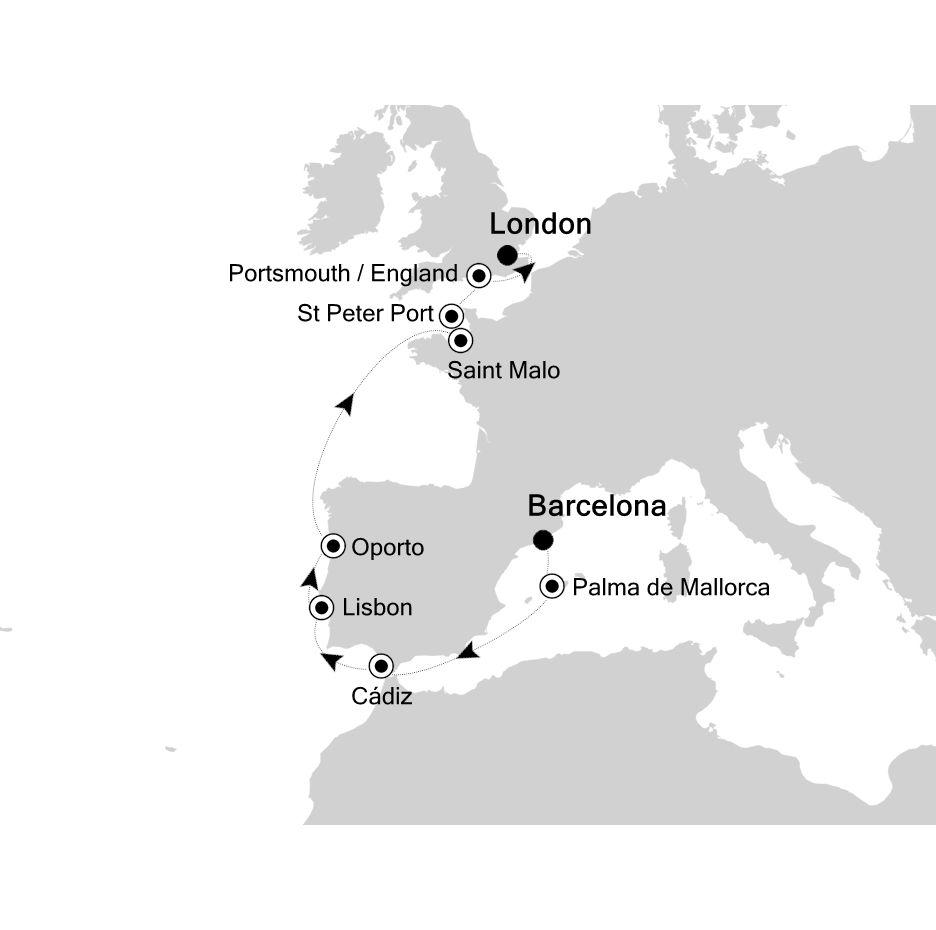5916 - Barcelona to London