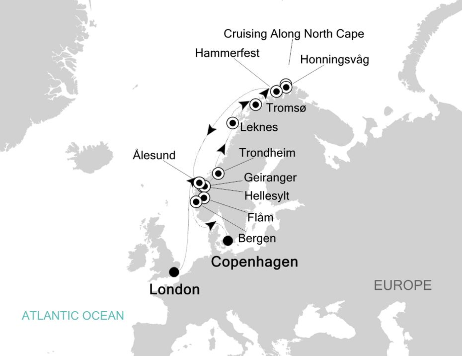 5917 - London to Copenhagen