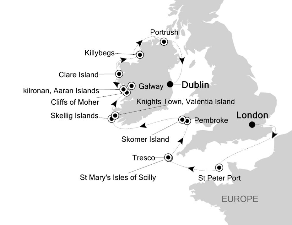 1810 - London to Dublin