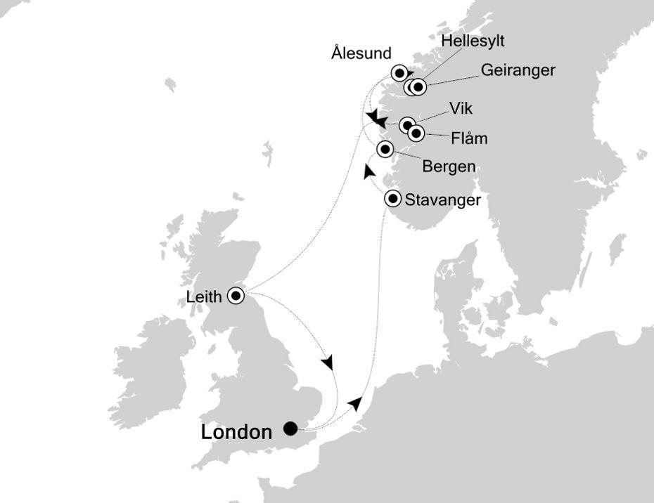 2917 - London nach London