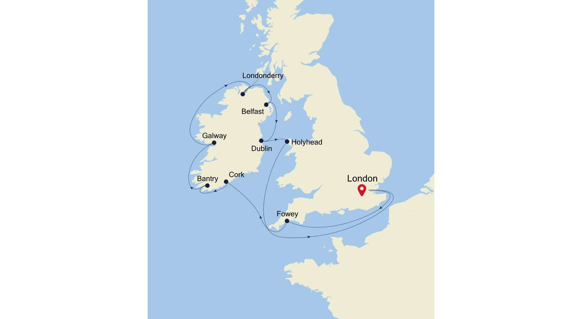 2923 - London nach London