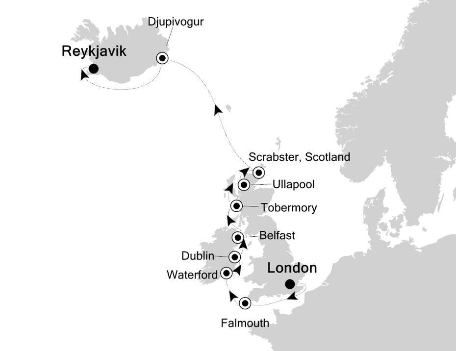 2822 - London to Reykjavik