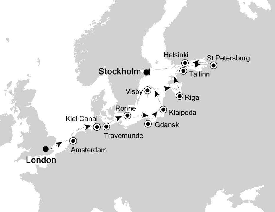 2826 - London à Stockholm