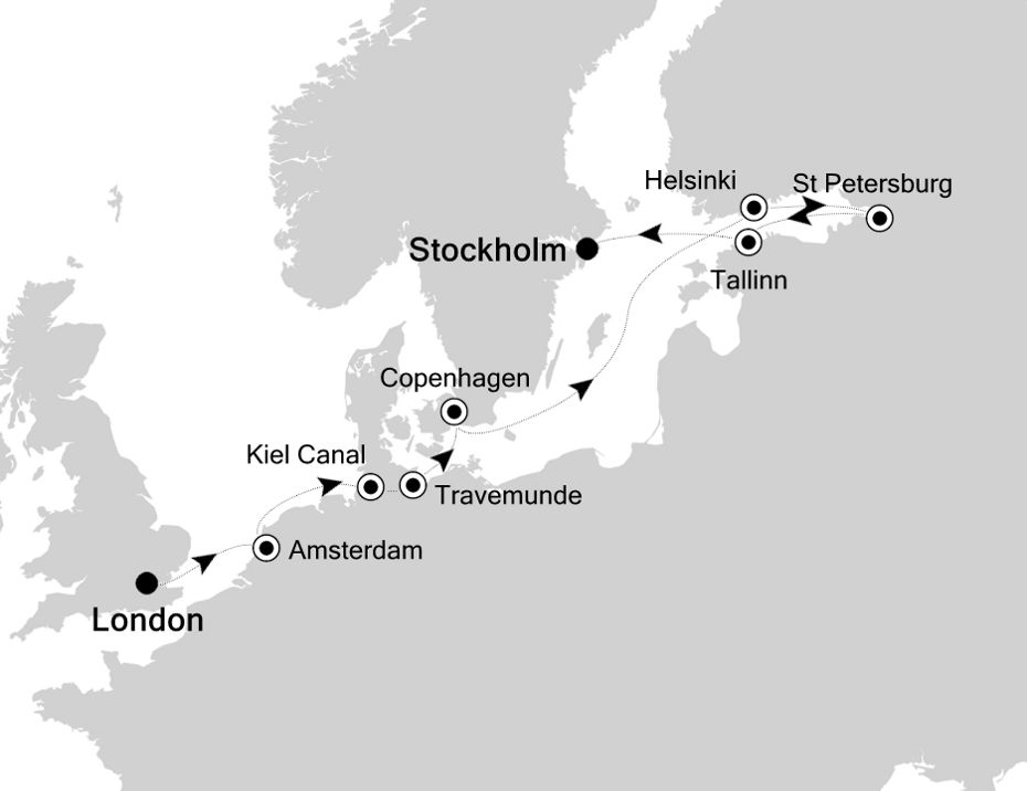 SW200525014 - London to Stockholm